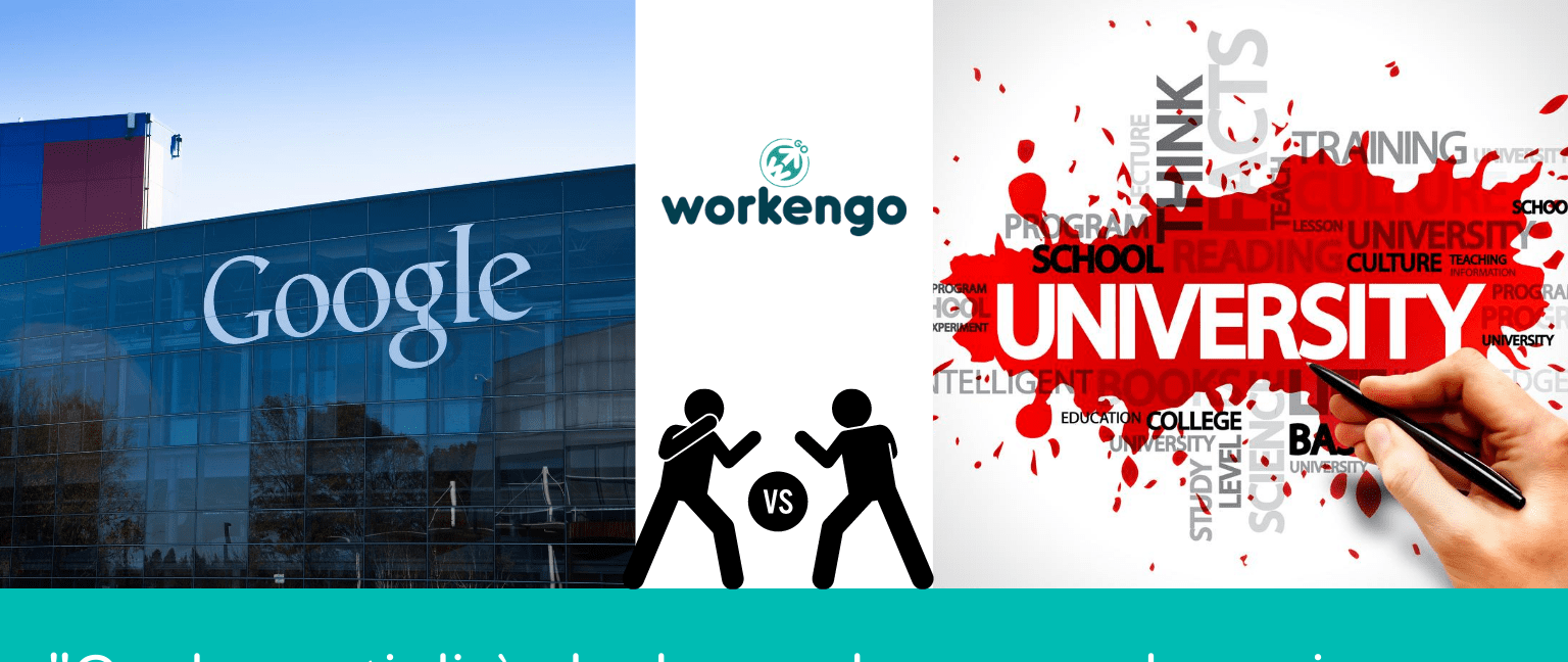 google sfida il sistema universitario